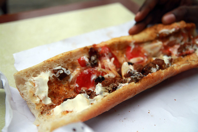 Yummy Ivory Coast - Grilled Beef Sandwich