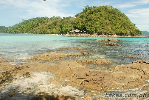 View from one side of Exotic Island