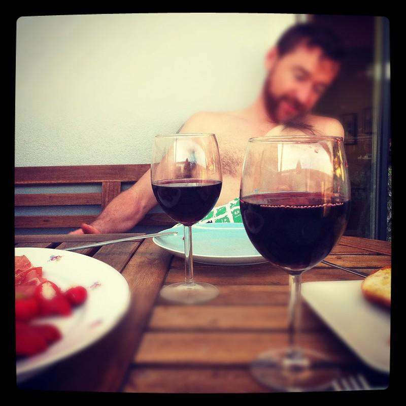 Rotwein dazu. den haben wir uns verdient
