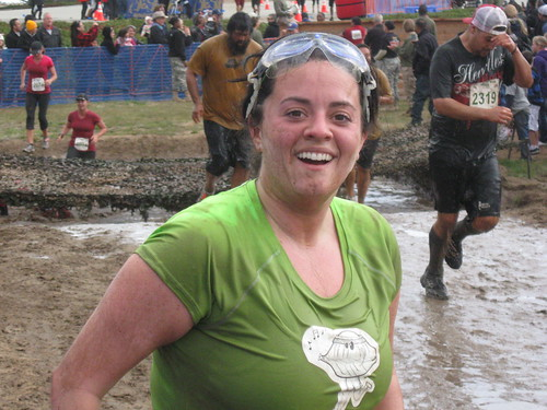 Happy racer during the Big Sur Mud Run