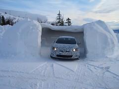 Astra OPC - Wintertest in Schweden