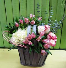 Floral Basket  - Lisa Greene, AAF, AIFD, PFCI