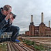 Inflatable me does Battersea / London / eXplore #13 by zzapback