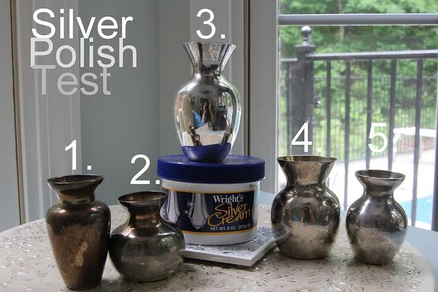 Wrights Silver Cream VS Pinterest Silver Polish recipe