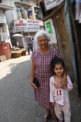 Mrs Gomes and Marziya Shakir Street Photographer by firoze shakir photographerno1