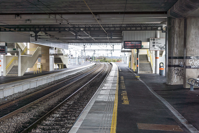Clongriffin Railway Station In North Dublin