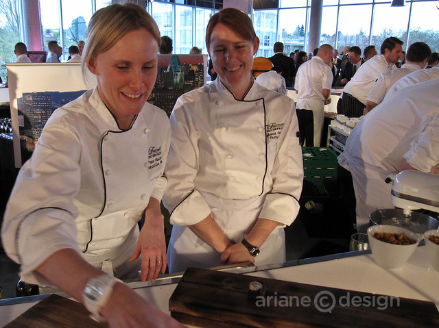 Executive Chef Dana Hauser, Pastry Chef Stephanie Greenslade