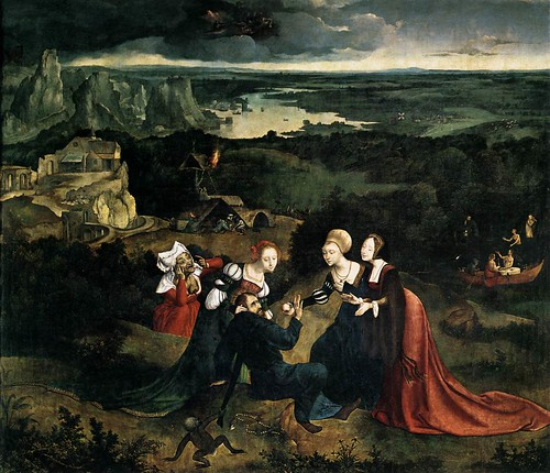 [ P ] Joachim Patinir - Temptation of St.Anthony (1515) by Cea.