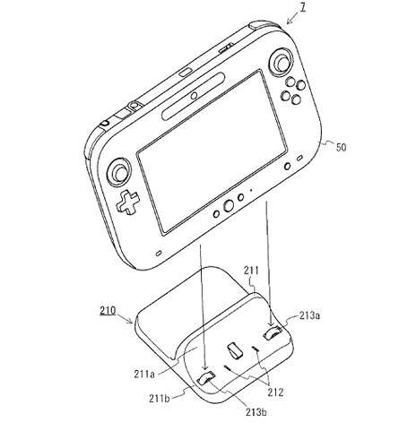 Wii U tablet cradle