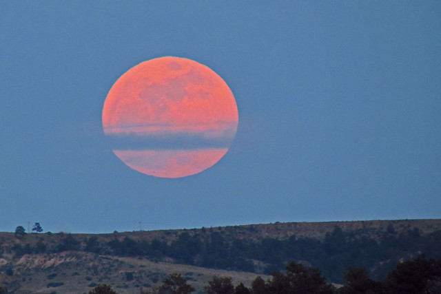 Super Moon: Colorado Springs, Colorado (CO)