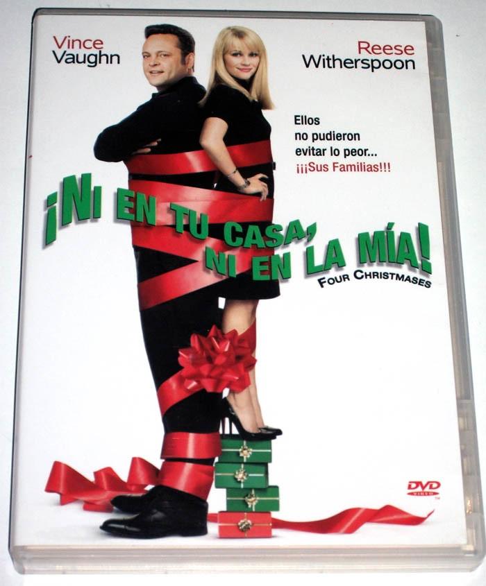 Dvd ni en tu casa ni en la mia four christmases 2008 for Voglio progettare la mia casa online