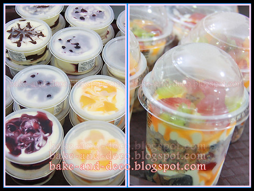 Ice Cream Cake + Blackforest Cake + Tutty fruity Cream + Lapis Cheezy (Fully Hands On) ~ 17 April 2012