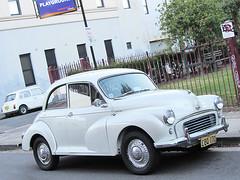 mid-size car(0.0), sedan(0.0), automobile(1.0), vehicle(1.0), morris minor(1.0), city car(1.0), compact car(1.0), antique car(1.0), classic car(1.0), vintage car(1.0), land vehicle(1.0),