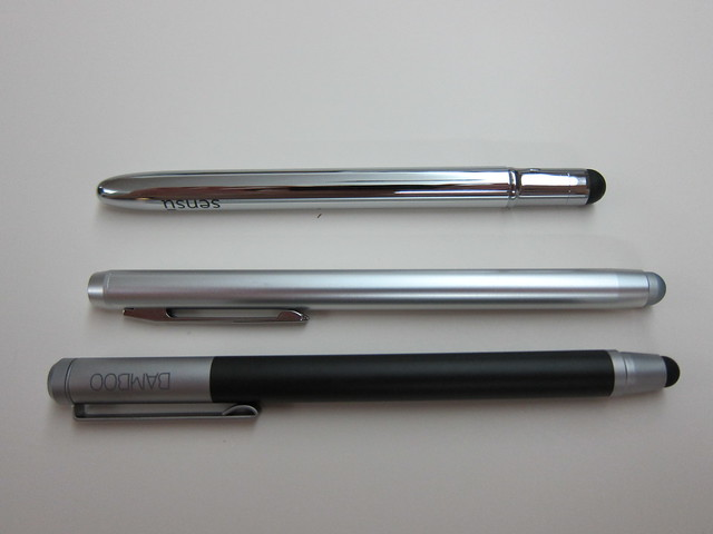 Sensu Artist Brush & Stylus, Power Support Smart Pen, Wacom Bamboo Stylus
