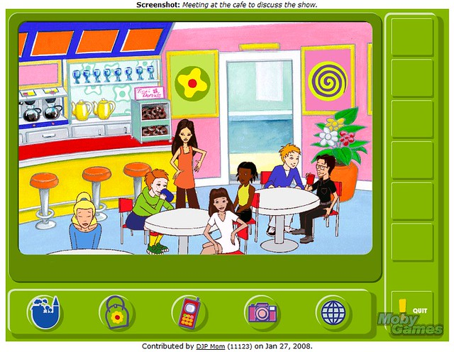LEGO Friends video game 1999 - Meeting at The Cafe | Flickr - Photo ...