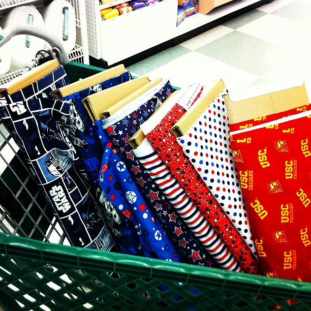 There is way too much going on in this shopping cart. Stocking up for future projects.