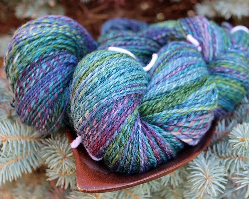 Corgi Hill Farm - Merino Yak Silk - Plied