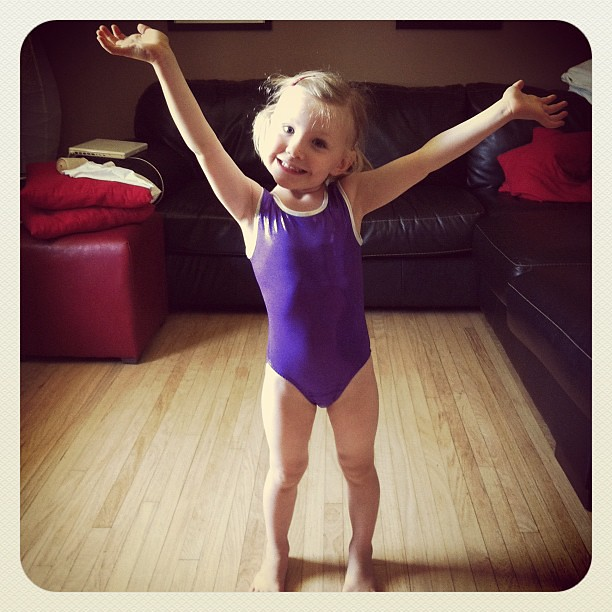 New sparkly gymnastics suit
