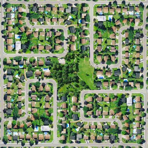 A practical, purposeful Neighbourhood Layout: Fused Grid by UrbanGrammar