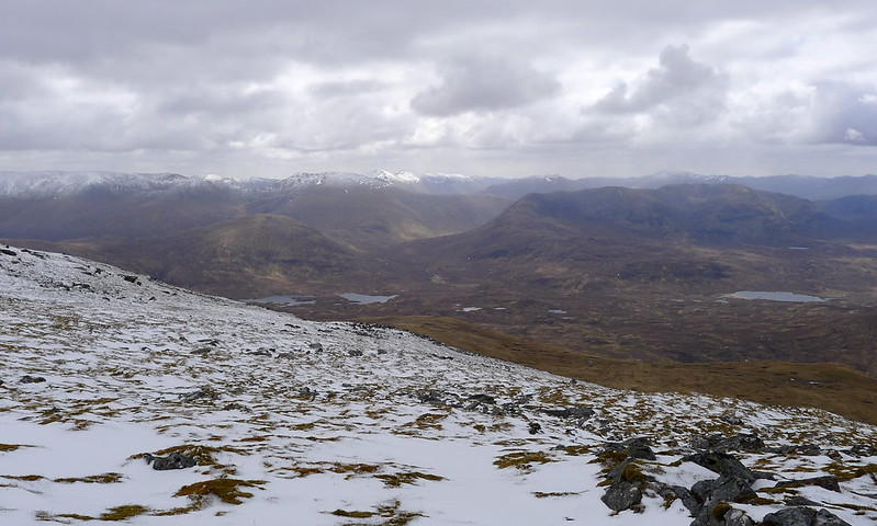 Looking south to Affric