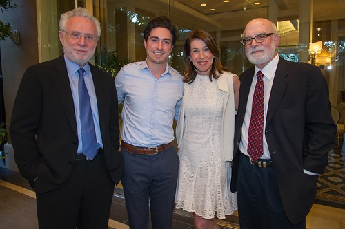 Wolf, Ben Feldman (Mad Men), Lynn Blitzer and Gary Ratner