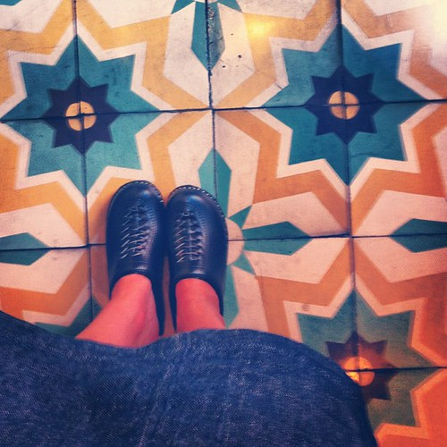 Clogs and tile