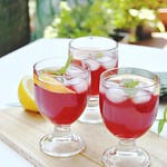 Strawberry Hibiscus Lemonade