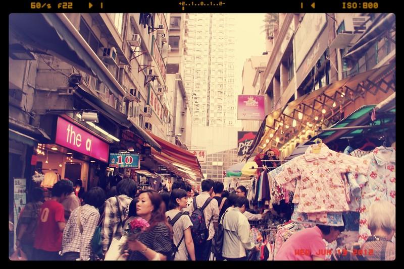 Wan Chai Tai Yuan Street Market Hong Kong