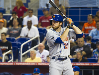 Ike Davis at the plate