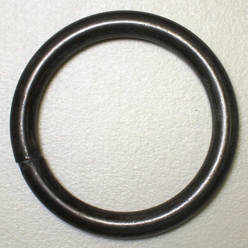 "1.25"" dia. welded steel ring"