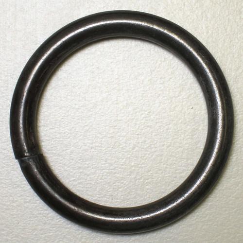 "1.25"" dia. welded steel ring"