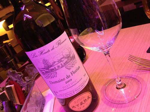 白ワインはボトルで@4 Seasons LDK