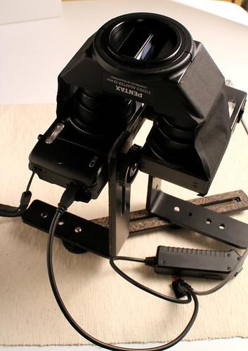 PENTAXステレオアダプター逆付けマクロ撮影テスト