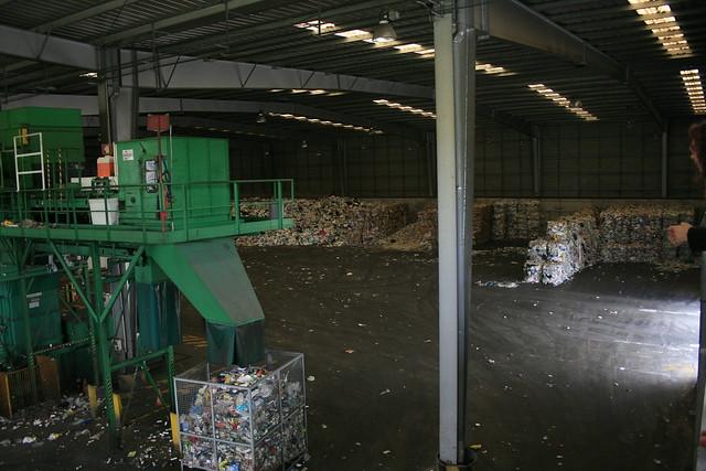 Miejsce selekcji odpadów