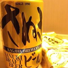 でもってあとは一晩寝て帰るだけなのでビールを買ってみました。おつかれ~>自分