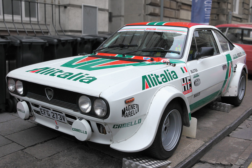 lancia beta s2 rallye 'alitalia', c1979 | mid-engined group … | flickr