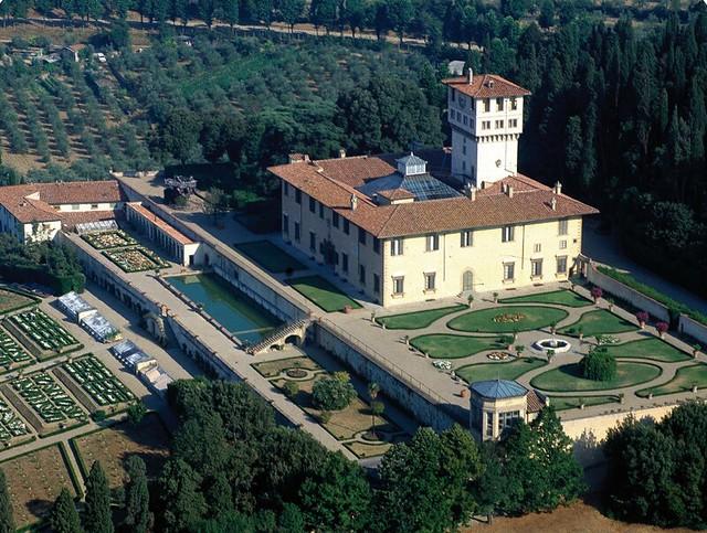 Villa medicea la petraia castello firenze flickr for Villa la petraia