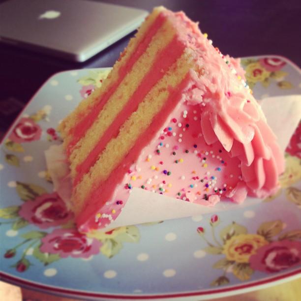 Restaurant Eve Birthday Cake!