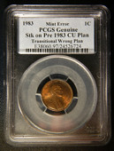 1983 copper-alloy cent
