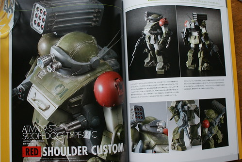 Armored Trooper VOTOMS Master Book - SCOPEDOG 21C - 1