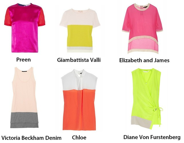 Color Blocking spring 2012