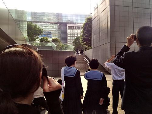 Annular Eclipse 2012, Tokyo