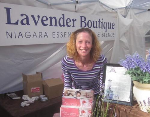 Lavender Boutique, Tammy Nesbitt, Niagara Falls, aromatherapy, essential oils