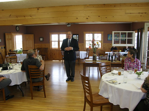 Agriculture Under Secretary for Rural Development speaks about the Department's 150th anniversary during an event at the Wallace Country Life Center