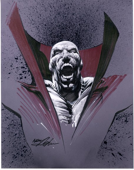 Deadman 2010 purple theme by Neal Adams