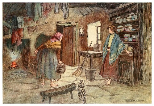 009-Los prestamos de Julia-Irish ways-1909-ilustraciones de Warwick Goble