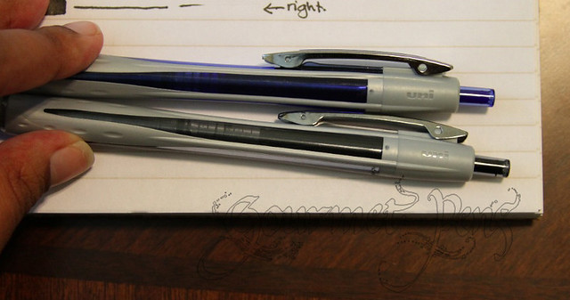 Review: Uni-ball Vision RT 0.8 mm Rollerball Pen