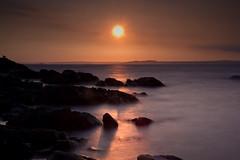 [フリー画像素材] 自然風景, 海, ビーチ・海岸, 朝焼け・夕焼け, 風景 - イギリス ID:201205252000