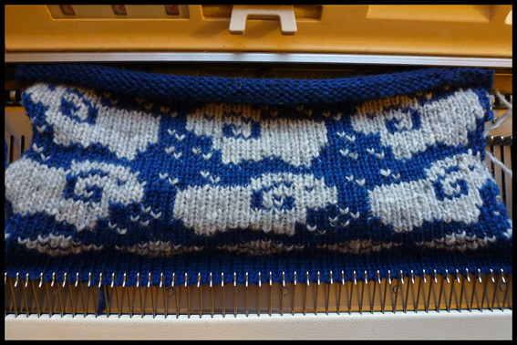 Rams! KH965 Machine Knitting