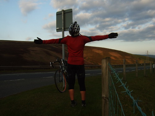 After long days of cycling almost in Edinburgh